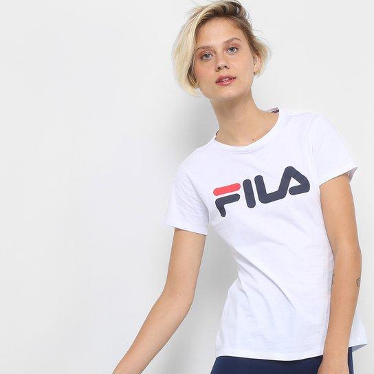 Camiseta Fila Letter New Feminina - Compre Agora  6120999d62b7f