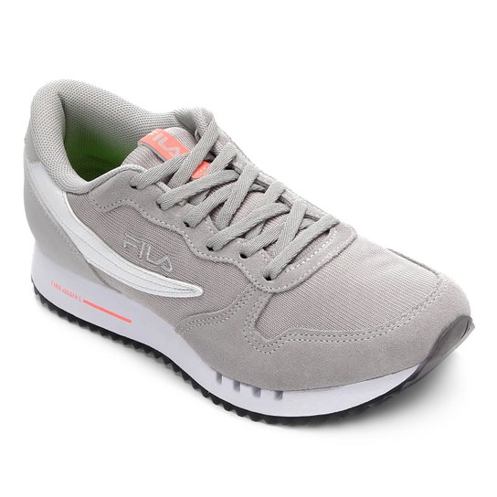 2025d2534 Tênis Fila Euro Jogger Sport Ss Feminino - Cinza Claro | Netshoes