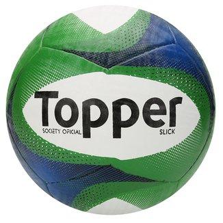5ed2723375 Bola Futebol Topper Slick Society