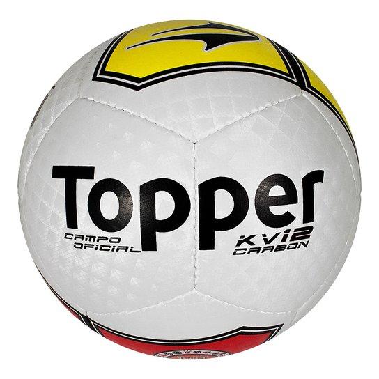 Bola Fut.Campo Topper Kv Carbon 2012 - Compre Agora  f19770a97515f