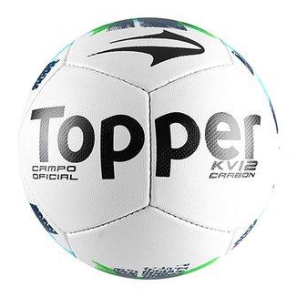 Bola Futebol Campo Topper KV Carbon II 9cbeb45ffa9f3