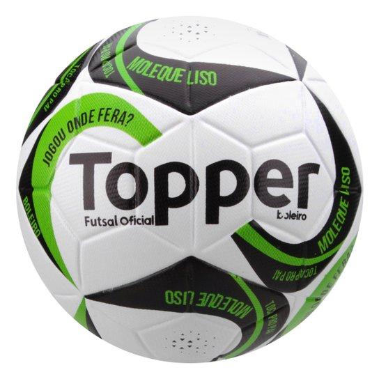 c466d28617 Bola Futsal Topper Boleiro - Branco