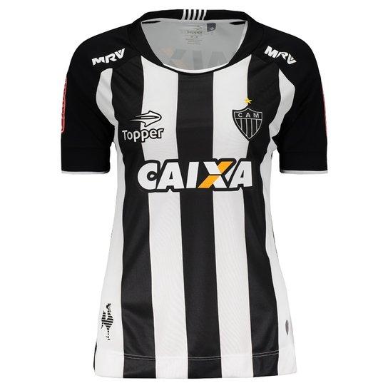 Camisa Topper Atlético Mineiro I 2017 Feminina - Compre Agora  54cb16e18ce30