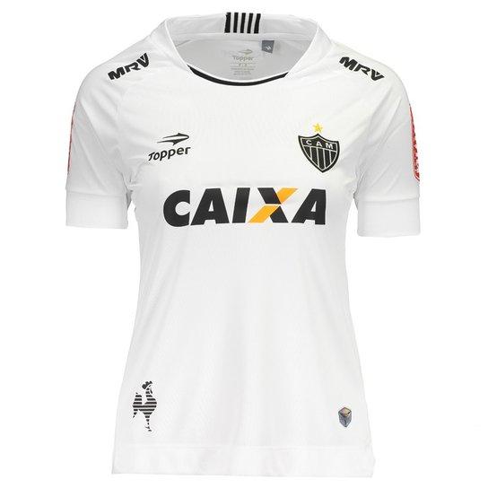 405267914d645 Camisa Topper Atlético Mineiro II 2017 Feminina - Compre Agora ...