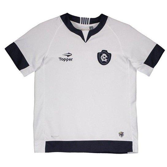 Camisa Topper Remo I 2017 N° 10 Juvenil - Branco - Compre Agora ... cabdadc5335ed
