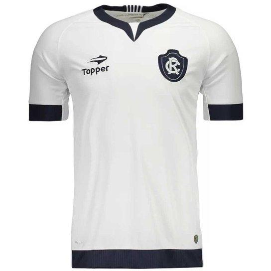 Camisa Topper Remo Away Nº10 Masculina - Branco - Compre Agora ... 11d2749c911cb