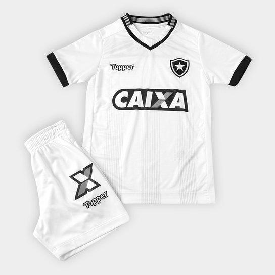 fc3182697d Kit Botafogo Infantil III 2018 Topper - Branco - Compre Agora