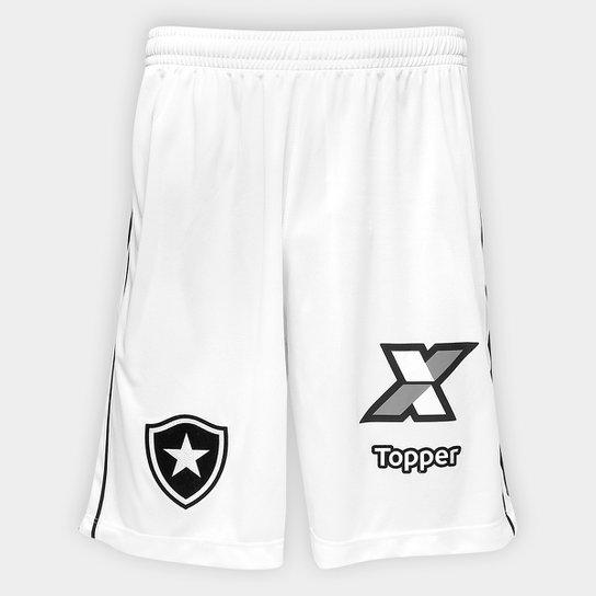8ca24fcd541c4 Calção Botafogo III 2018 Topper Masculino - Branco - Compre Agora ...