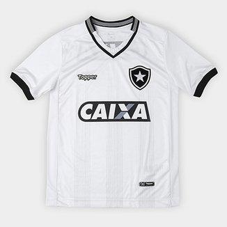 59e94da66c Camisa Botafogo Infantil III 2018 s n° Torcedor Topper