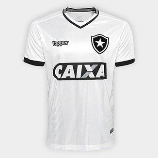 Camisa Botafogo III 2018 s n° Torcedor Topper Masculina 9e6103f29da31
