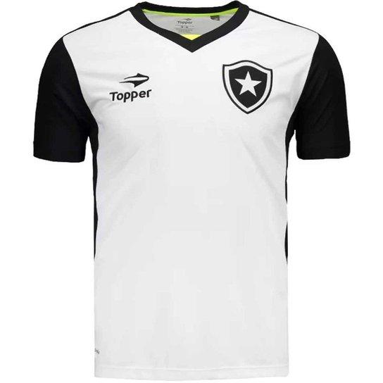 Camisa Topper Botafogo Treino Masculina - Compre Agora  3331d0bcac8d2