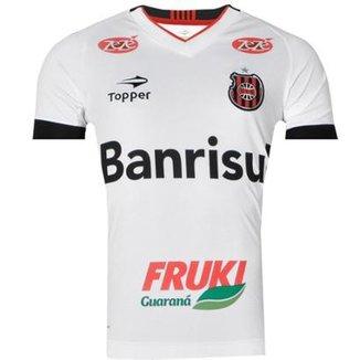 e7259de22d4b9 Camisa Brasil de Pelotas II Sem Número 2016 Topper Masculina