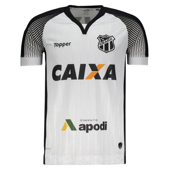 a28d34132 Camisa Topper Ceará II 2017 com Número Masculina - Compre Agora ...