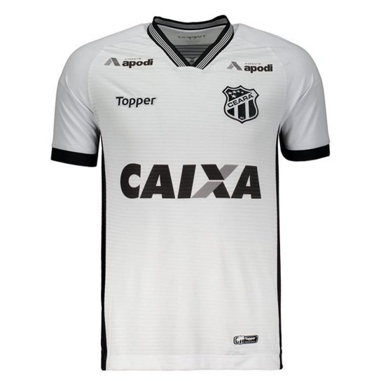 5077aadeec Camisa Topper Ceará II 2018 Masculina - Branco - Compre Agora