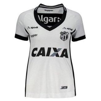 8623c5f398385 Camisa Topper Ceará II 2018 Feminina