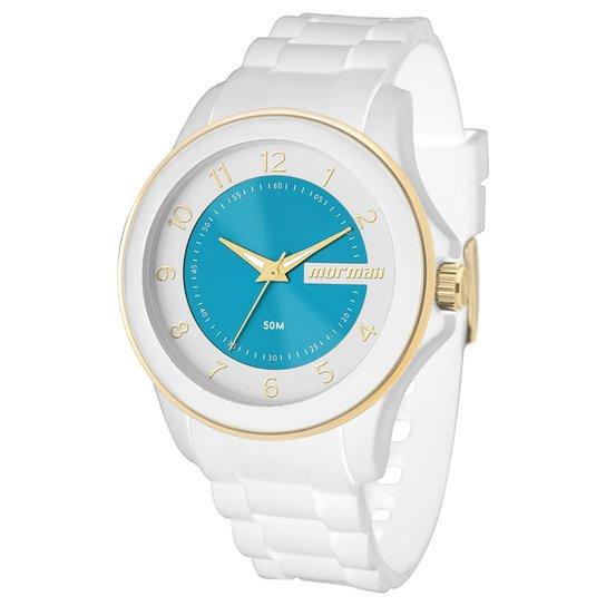 Relógio Mormaii-MO2035AN - Branco - Compre Agora   Netshoes 29d9c9ab69