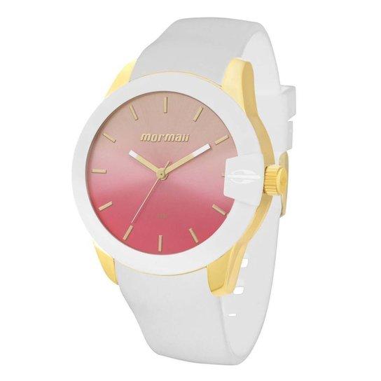Relógio Mormaii MO2035BE 8D - Branco - Compre Agora   Netshoes e23158f457