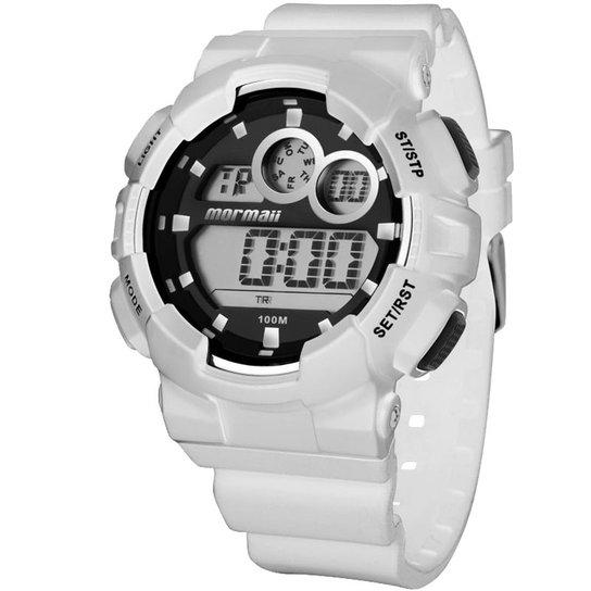 af8909f2eb8 Relógio Mormaii Masculino MOJL008 8B BRANCO - Compre Agora