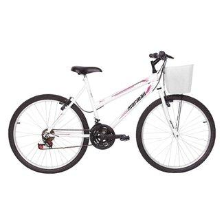 2397d5fe2b912 Compre Bicicleta Feminina Aro 26 Com Cesta Online   Netshoes