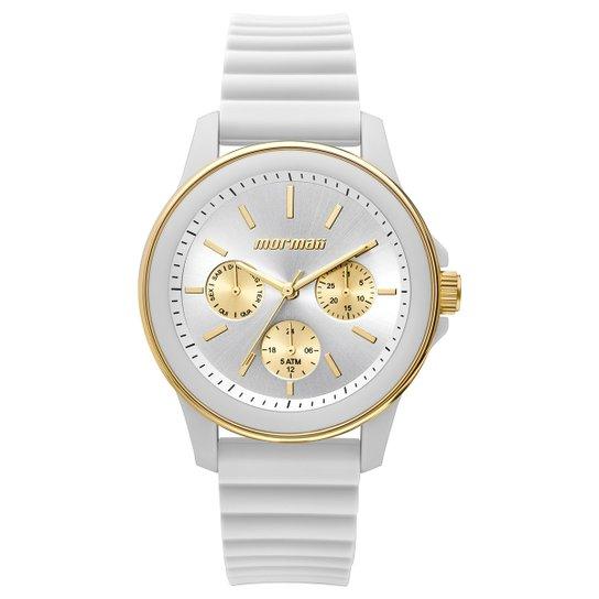 Relógio Mormaii Analógico MO6P29AE-8B Feminino - Branco - Compre ... ebe8074430