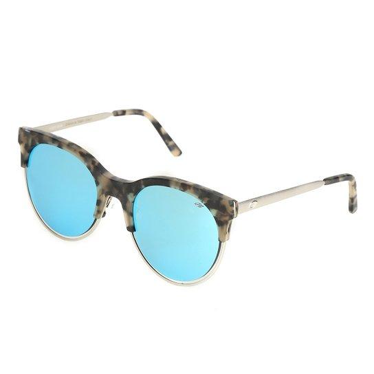 de9f45f92 Óculos Mormaii Gatinho Espelhado Feminino - Prata. Loading.
