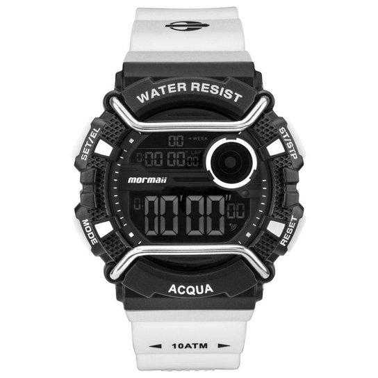 Relógio Masculino Mormaii Acqua Pro Monxa 8P - Branco - Compre Agora ... bff45525ef