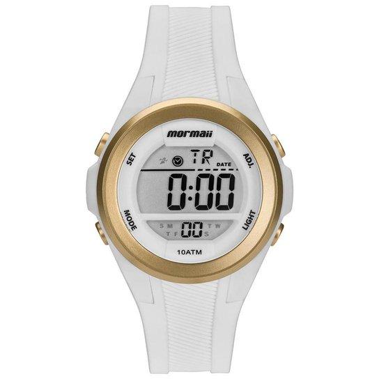 5cefeee43e1a8 Relógio Mormaii Maui Feminino - Branco - Compre Agora