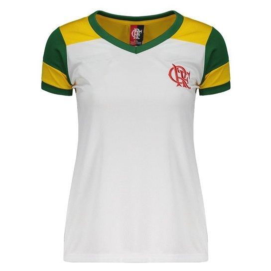 b31475bd70 Camisa Flamengo Brasil Retrô Feminina - Compre Agora