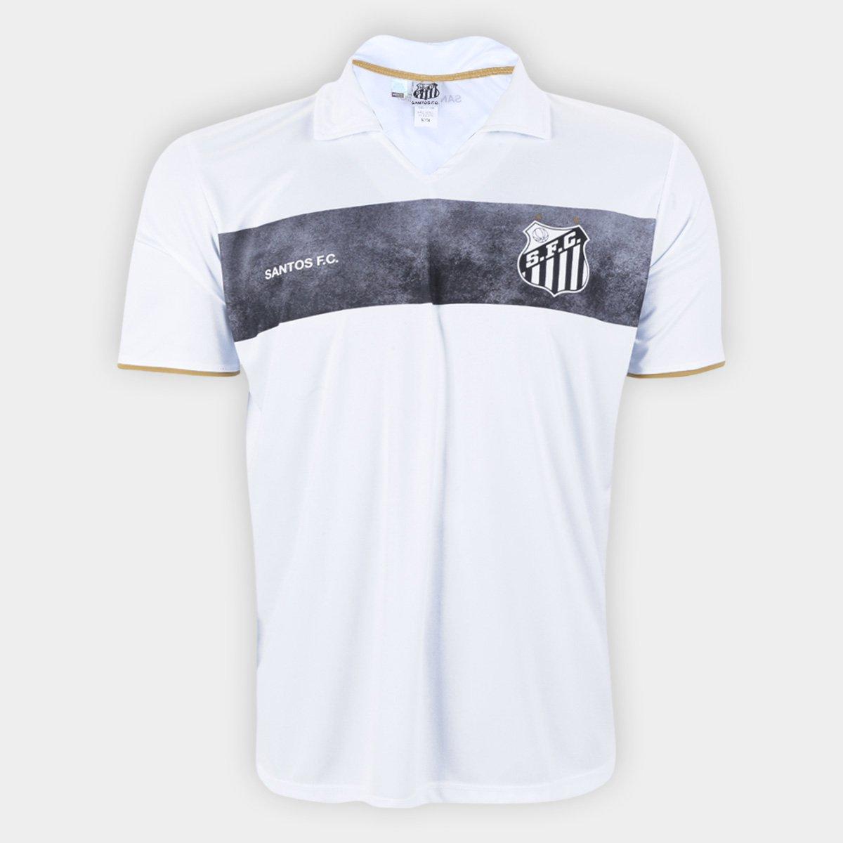 Camisa Polo Santos Score Masculina