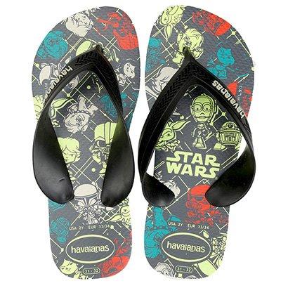 Sandália Infantil Havaianas Max Star Wars CF Masculina