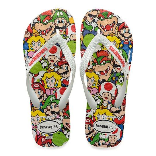 0cd40fc18d Sandália Havaianas Mario Bros Cf - Compre Agora