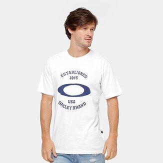 Camiseta Oakley Mod Pennat Elipse Masculina bacc2d3d631
