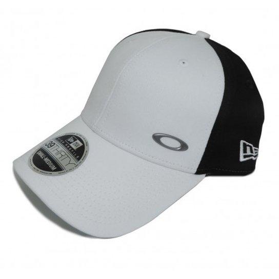 10f4916f79165 Boné Oakley Tinfoil Branco - Branco - Compre Agora