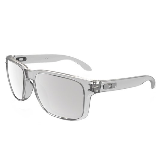 0fed6c387 Óculos Oakley Holbrook Clear/Chrome Iridium | Netshoes