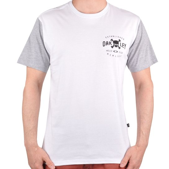 Camiseta Oakley Skull Seal - Compre Agora  4bf9ca21b43