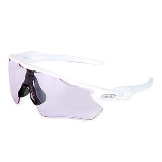 63e5e107b15fe Compre Oakley Branco E Prata Online   Netshoes