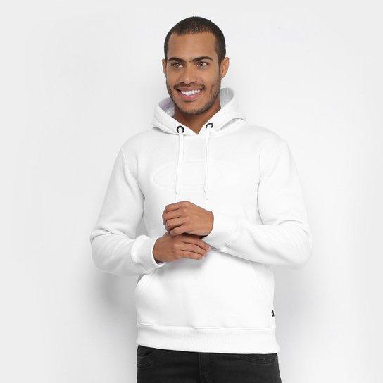 30e37a991c75b Moletom Oakley Mod One Brand 2.0 Pullover Masculino - Branco ...