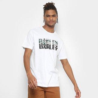 Camiseta Oakley Bark Camo Tee Masculina b923d23c638