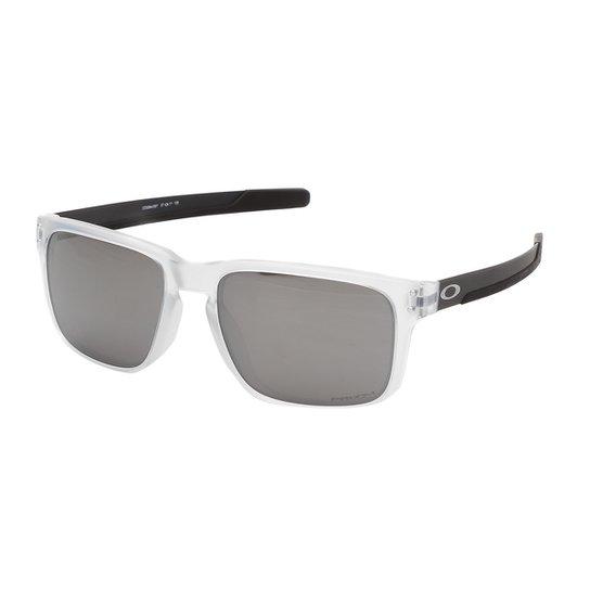 b53af9306 Óculos Oakley Holbrook Mix Matte Clear Prizm OO9384 Masculino - Branco
