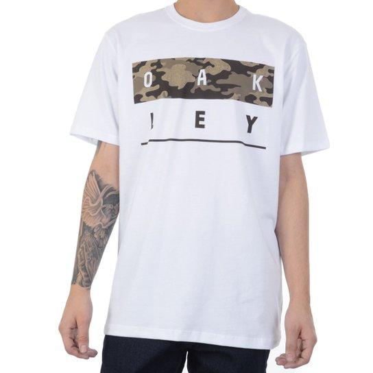 b08ac6ae3655d Camiseta Oakley Stack Camo Tee Masculina - Compre Agora