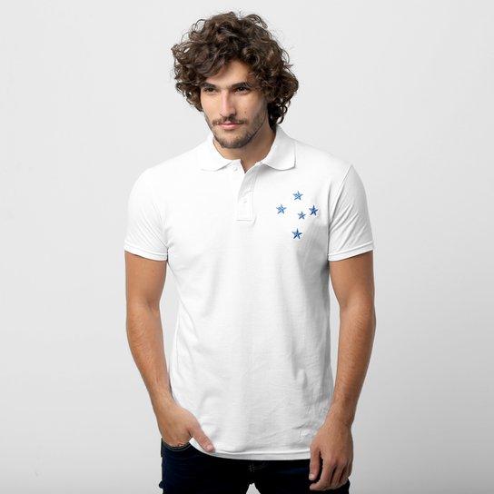 Camisa Polo Cruzeiro Piquet - Compre Agora  120b2cad16dd8