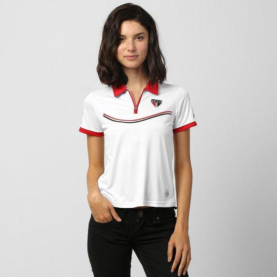 1b9f9c5284 Camisa Polo São Paulo Dry Soft Feminina - Compre Agora