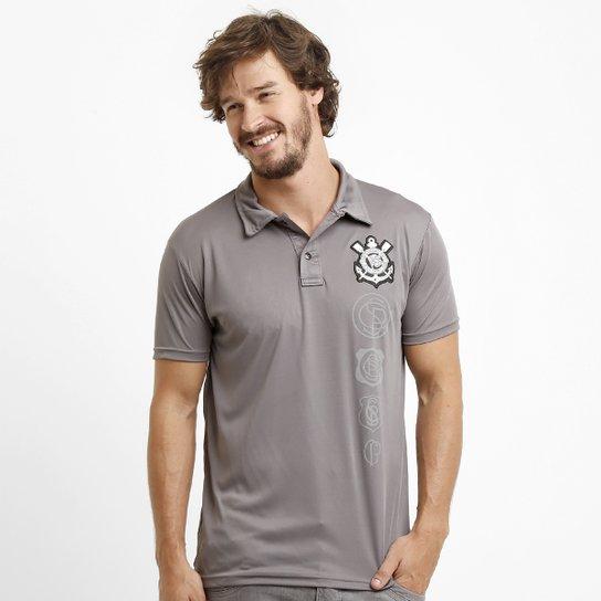 Camisa Polo Corinthians Evolução dos Logos - Compre Agora  019371aa2a0a9