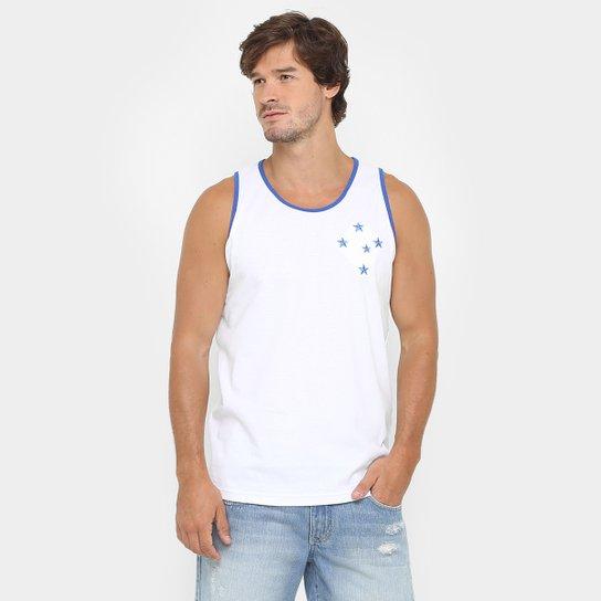 95886548dd Camiseta Regata Cruzeiro Classic I Masculina - Branco