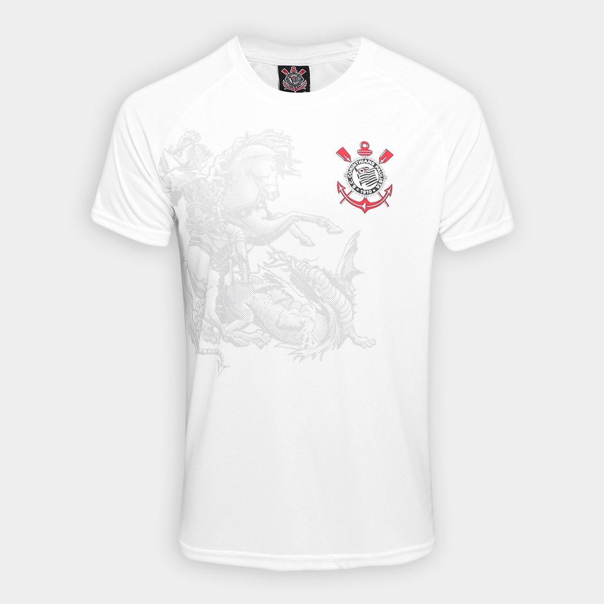 Camisa Corinthians São Jorge Edição Limitada Masculina  1bbab5961381b