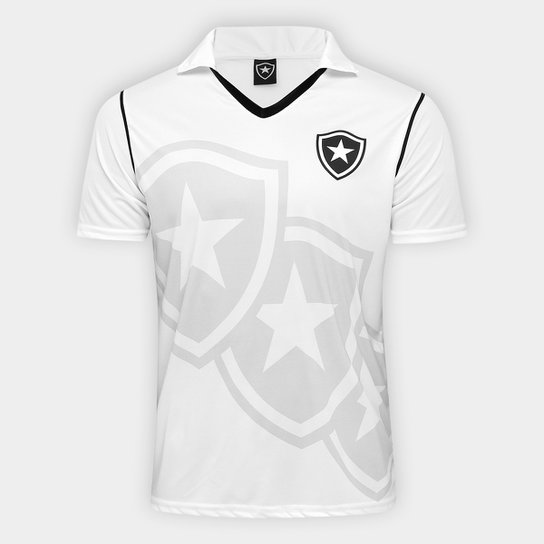 Camisa Botafogo 1999 s nº Edição Limitada Masculina - Branco ... 1555fb3e877d1