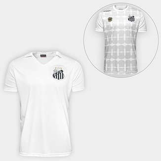 7606b34cdd4c3 Super Kit Santos - Camisa 2010 s nº + Camisa Kappa Santos Ed. Limitada