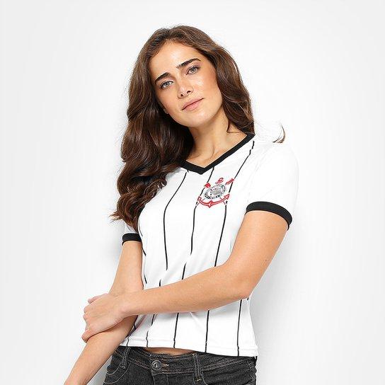 Camisa Corinthians Fenomenal Edição Especial Feminina - Branco ... 851413e01f6c6