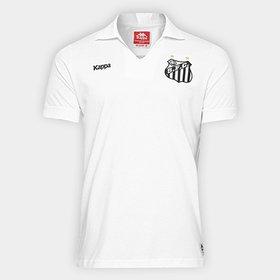 Camisa Polo Santos Kappa Comissão Técnica 2016 Masculina - Compre ... 5197d2711deec
