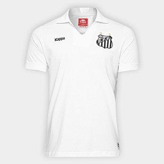 2c8fd5b29e3fe Camisa Polo Santos Authentic Réplica Masculina